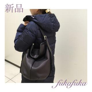 パピヨネ(PAPILLONNER)の*新品*約6万円 KawaKawa カワカワ FUKAFUKA ショルダー 黒(ショルダーバッグ)