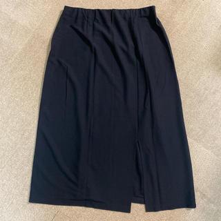 シャルレ(シャルレ)のシャルレ スカート LLサイズ ブラック(ロングスカート)