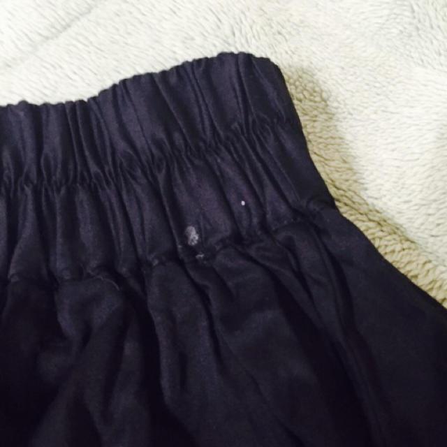 LOWRYS FARM(ローリーズファーム)の黒スカート レディースのスカート(ミニスカート)の商品写真