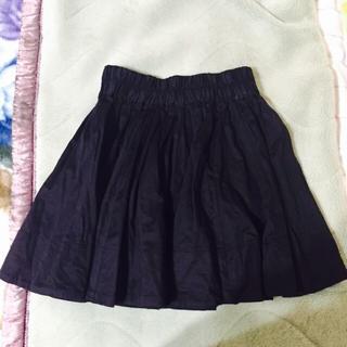 ローリーズファーム(LOWRYS FARM)の黒スカート(ミニスカート)