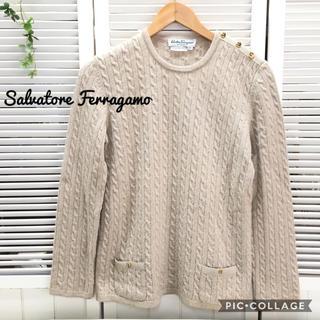 サルヴァトーレフェラガモ(Salvatore Ferragamo)のフェラガモ❤️salvatore ferragamo  セーター ニット(ニット/セーター)