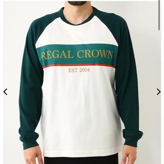ロデオクラウンズワイドボウル(RODEO CROWNS WIDE BOWL)のRODEO CROWNS RERAGLラグランロングスリーブTシャツ(Tシャツ/カットソー(七分/長袖))