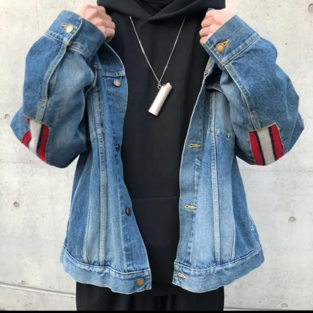 FACETASM(ファセッタズム)のfacetasm リブデニムジャケット メンズのジャケット/アウター(Gジャン/デニムジャケット)の商品写真
