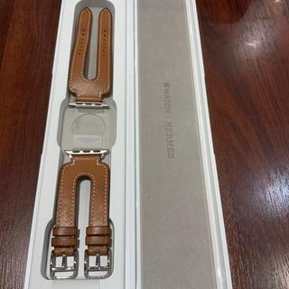 エルメス(Hermes)の(正規品) Apple Watch エルメス ダブルバックルカフ フォーヴ(レザーベルト)