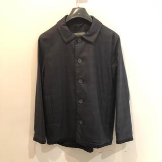 ポールハーデン(Paul Harnden)のCASEY CASEY / ウールシャツジャケット 希少(ステンカラーコート)