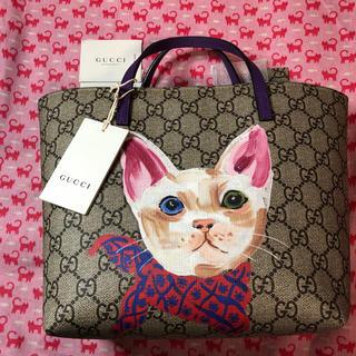 グッチ(Gucci)のグッチ(GUCCI)⭐️トートバッグ 猫 チルドレンズコレクション(トートバッグ)