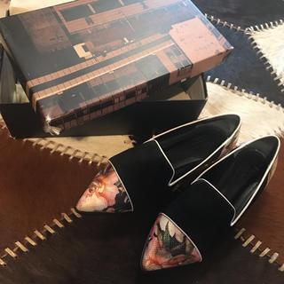 グレースコンチネンタル(GRACE CONTINENTAL)の専用です、グレースコンチネンタル フラワーフラットシューズ(ローファー/革靴)