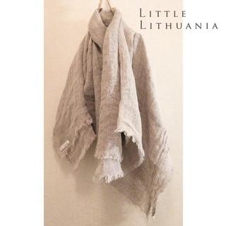 ネストローブ(nest Robe)のLittle Lithuania✨リトル・リトアニア 麻100% ストール(ストール/パシュミナ)
