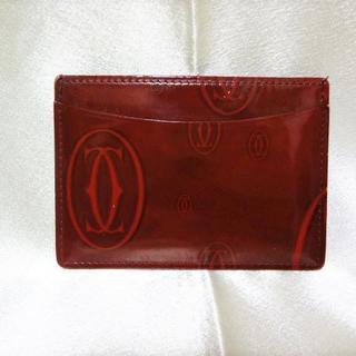 Cartier - 良品  『Cartierカルティエ』ハッピーバースデー カードケース