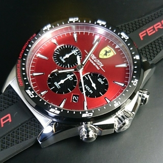 フェラーリ(Ferrari)の新品∮最新New◆国内未販売☆公式 フェラーリ〝ピロータ〟上級∮超人気モデル♪(腕時計(アナログ))