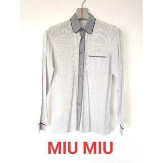 プラダ(PRADA)のミュウミュウ miumiu メンズシャツ(シャツ)
