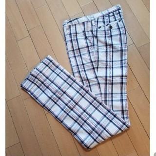 ダブルスタンダードクロージング(DOUBLE STANDARD CLOTHING)のダブスタ チェックパンツ 38(カジュアルパンツ)