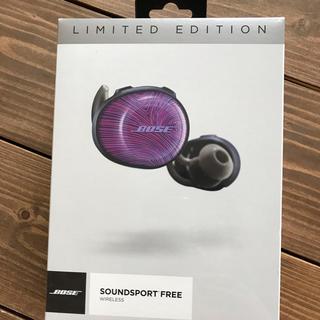 ボーズ(BOSE)のBOSE SOUNDSPORT FREE ワイヤレスイヤホン 限定カラー(ヘッドフォン/イヤフォン)
