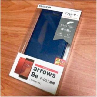 エレコム(ELECOM)の★arrows Be(F-05J)用カバー PD-F05JPLFUMNV♪(Androidケース)