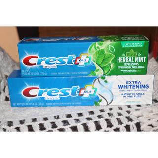 クレスト(Crest)のCrest 歯磨き粉 アメリカ 2個セット(歯磨き粉)