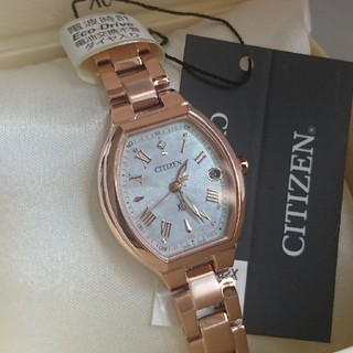 CITIZEN - 《限定》新品 CITIZEN XC クロスシー 白蝶貝 ダイヤ電波時計: ルキア
