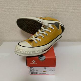 コンバース(CONVERSE)の25cm ct70 chuck taylor all star 黄色(スニーカー)