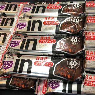 モリナガセイカ(森永製菓)の【22本】森永 糖質40%オフ タンパク質10g  プロテイン ベイクドビター(プロテイン)