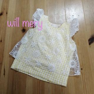 WILL MERY - 【95】ウィルメリー ノースリーブ トップス