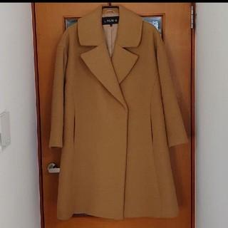 LOUNIE - LOUNIE Aラインコート キャメル 38サイズ