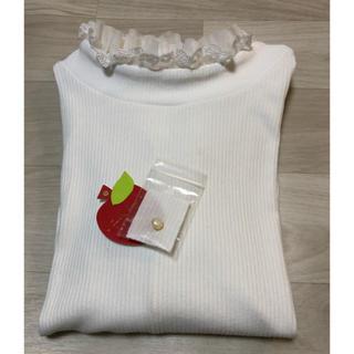 フランシュリッペ(franche lippee)のコーディネートふりふりプルオーバー 3L 白(Tシャツ(長袖/七分))