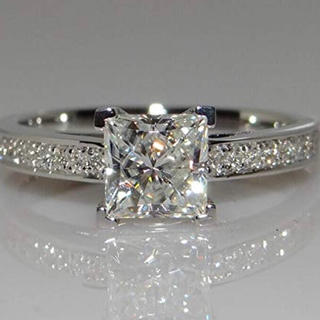 スワロフスキー(SWAROVSKI)の金属アレルギー対応 ゆびわ 婚約指輪 大粒 リング贈り物スワロフスキージルコニア(リング(指輪))