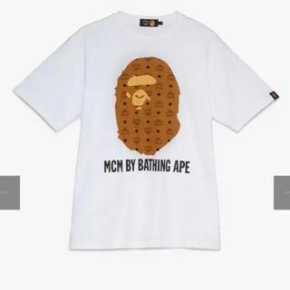 A BATHING APE - bape mam Tシャツ