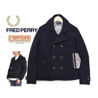 フレッドペリー(FRED PERRY)のC673★フレッドペリー リバティ中綿THERMOREメルトン ショートPコート(ピーコート)