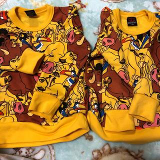 ベビードール(BABYDOLL)のライオンキングトレーナー(Tシャツ/カットソー)