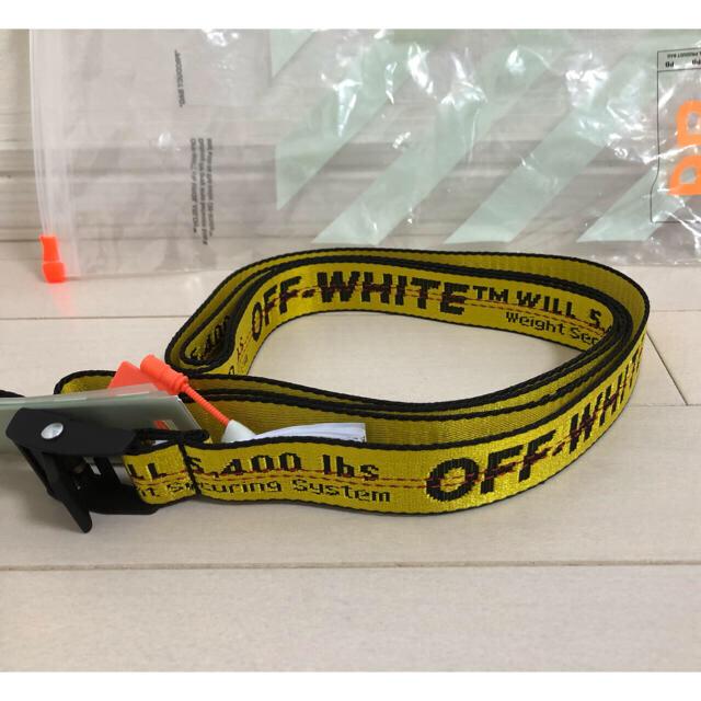 OFF-WHITE(オフホワイト)の【KD88様専用】200cm off-white インダストリアル ベルト メンズのファッション小物(ベルト)の商品写真