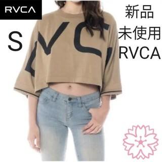 ルーカ(RVCA)の★ RVCA Sサイズ ロンT レディース クロップド丈 ショート丈(Tシャツ(長袖/七分))