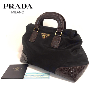 PRADA - 【正規品】PRADA ✨プラダ ハンドバッグ