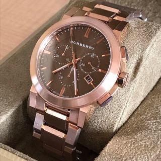 BURBERRY - 【訳あり】新品 BURBERRY バーバリー 人気のブロンズ腕時計