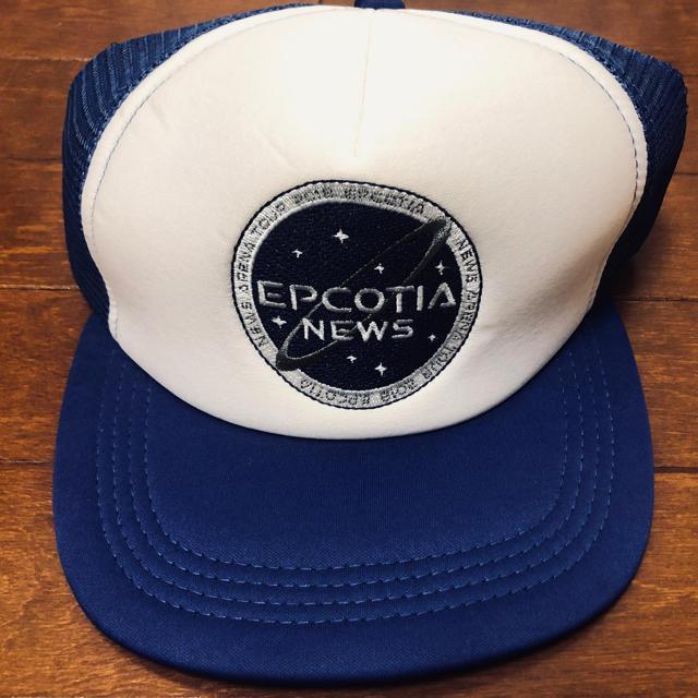 NEWS(ニュース)のNEWS EPCOTIA キャップ エンタメ/ホビーのタレントグッズ(アイドルグッズ)の商品写真
