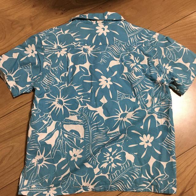 SHIPS(シップス)のアロハシャツ ships 120 キッズ/ベビー/マタニティのキッズ服男の子用(90cm~)(Tシャツ/カットソー)の商品写真