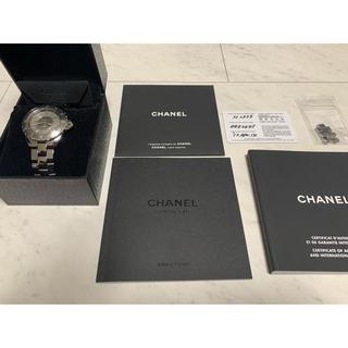 CHANEL - 大幅値下げ!ドルガバ時計付き シャネルJ12 クロマティック オートマチック
