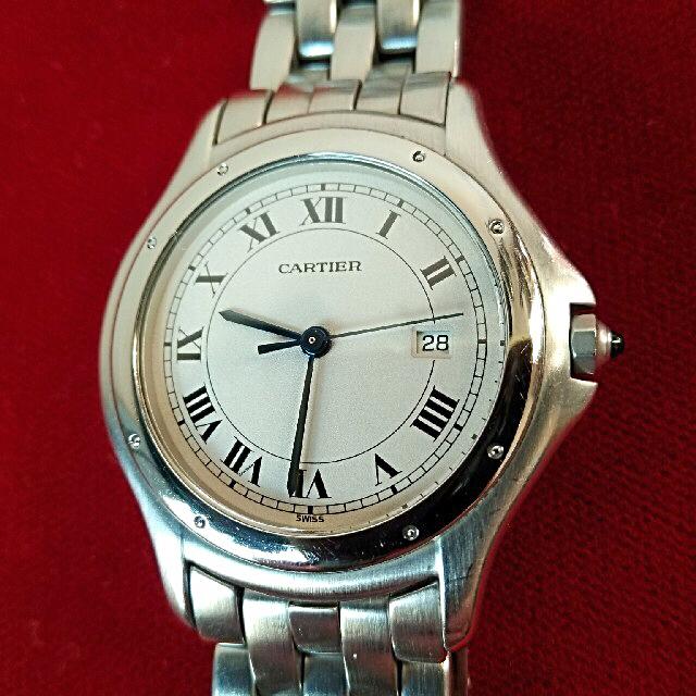 Cartier(カルティエ)のカルティエ パンテール クーガーLM ギャランティ付 メンズの時計(腕時計(アナログ))の商品写真