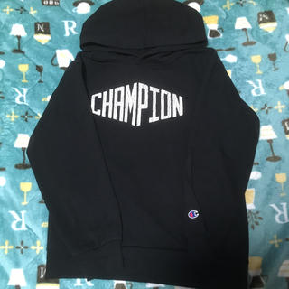 Champion - CHAMPION黒パーカー🌸ワケありのため。。