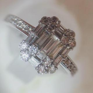 AHKAH - バケットダイヤモンドリング