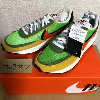 サカイ(sacai)のsacai × NIKE LDワッフル green / orange(スニーカー)