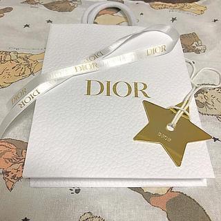 Dior - 新品 ディオール スター チャーム キーホルダー 飾り ゴールド