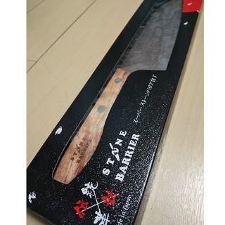 スーパーストーンバリア包丁 三徳包丁 165mm 日本製  (調理道具/製菓道具)