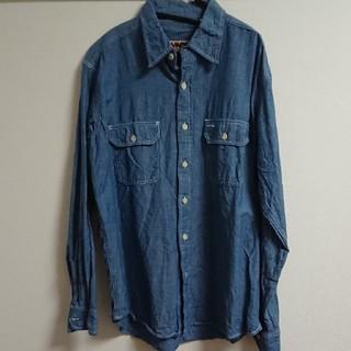 カムコ(camco)のCAMCO シャンブレーシャツ Lサイズ(シャツ)