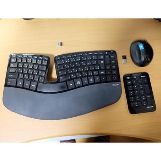 Microsoft - マイクロソフト ワイヤレスキーボード・マウス Sculpt Ergonomic