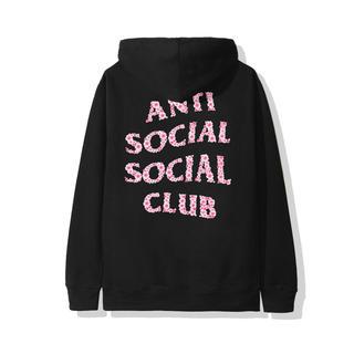 アンチ(ANTI)のASSC アンチソーシャルソーシャルクラブ パーカー L 19AW 未開封 桜(パーカー)