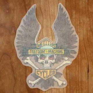 Harley Davidson - ビンテージ ハーレー スカル ステッカー デカール ⑨