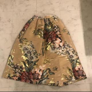 フェンディ(FENDI)のFENDI フェンディー スカート(ひざ丈スカート)