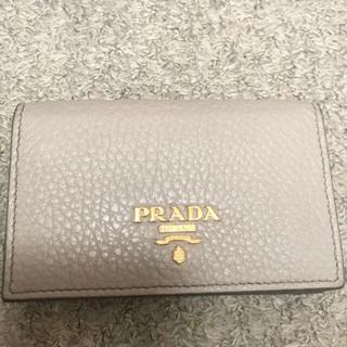 プラダ(PRADA)の新品 PRADA プラダ カードケース キーケース 財布 コインケース(名刺入れ/定期入れ)