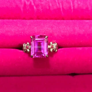 ジャスティンデイビス(Justin Davis)のジャスティンデイビス リング ピンク 美品(リング(指輪))