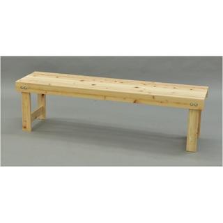 日本製 ひのき縁台/ベンチ椅子 【幅150cm】 木製 国産ヒノキ